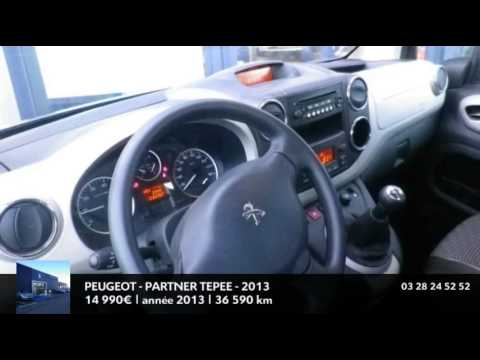 annonce occasion peugeot partner tepee 1 6 hdi92 fap outdoor 2013 youtube. Black Bedroom Furniture Sets. Home Design Ideas