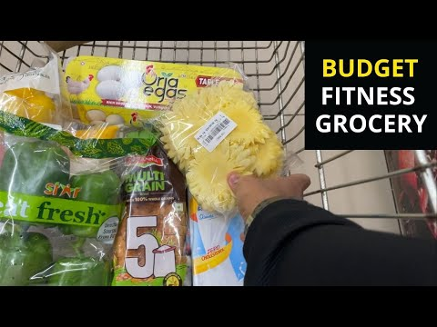 Budget Fitness Grocery Shopping 2021 !! 🇮🇳