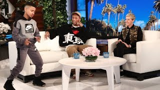 Pharrell Meets Ellen's Favorite Kid Trainer Demarjay thumbnail