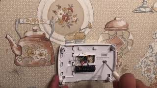 how to install a honeywell non-programmable thermostat