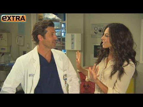 Greys Anatomy Set Visit with Patrick Dempsey