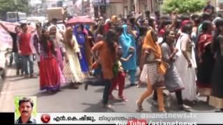 Onam celebration of University College Students creates traffic block in Trivandrum
