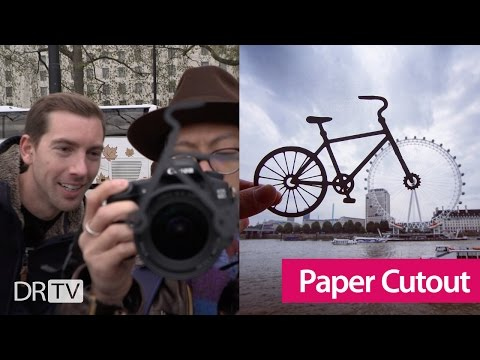 How to do Paper Cutout Photography