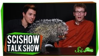 Hank and Michael Meet an Alien: SciShow Talk Show #4