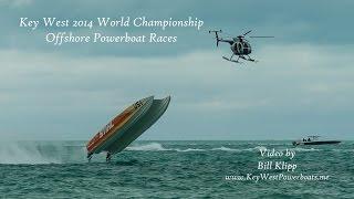 Key West World Championship Offshore Powerboat Races by Bill Klipp