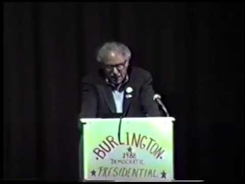 Bernie Sanders on Jesse Jackson and the Democratic Party -- April 20, 1988