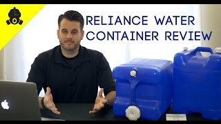 Emergency Essentials | Reliance Product Aqua-Tainer 7 Gallon Rigid Water Container Review