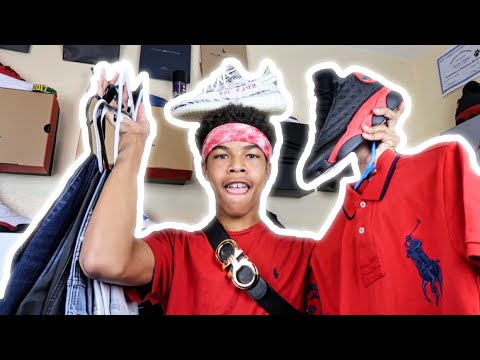 $1,300 Back To School Clothing Haul 🔥  (Yeezy, Jordan, Ferragamo, Polo & Tommy)