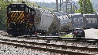 8 قتلى وأكثر من 200 جريح في انحراف قطار في بينسيلفانيا الأمريكية