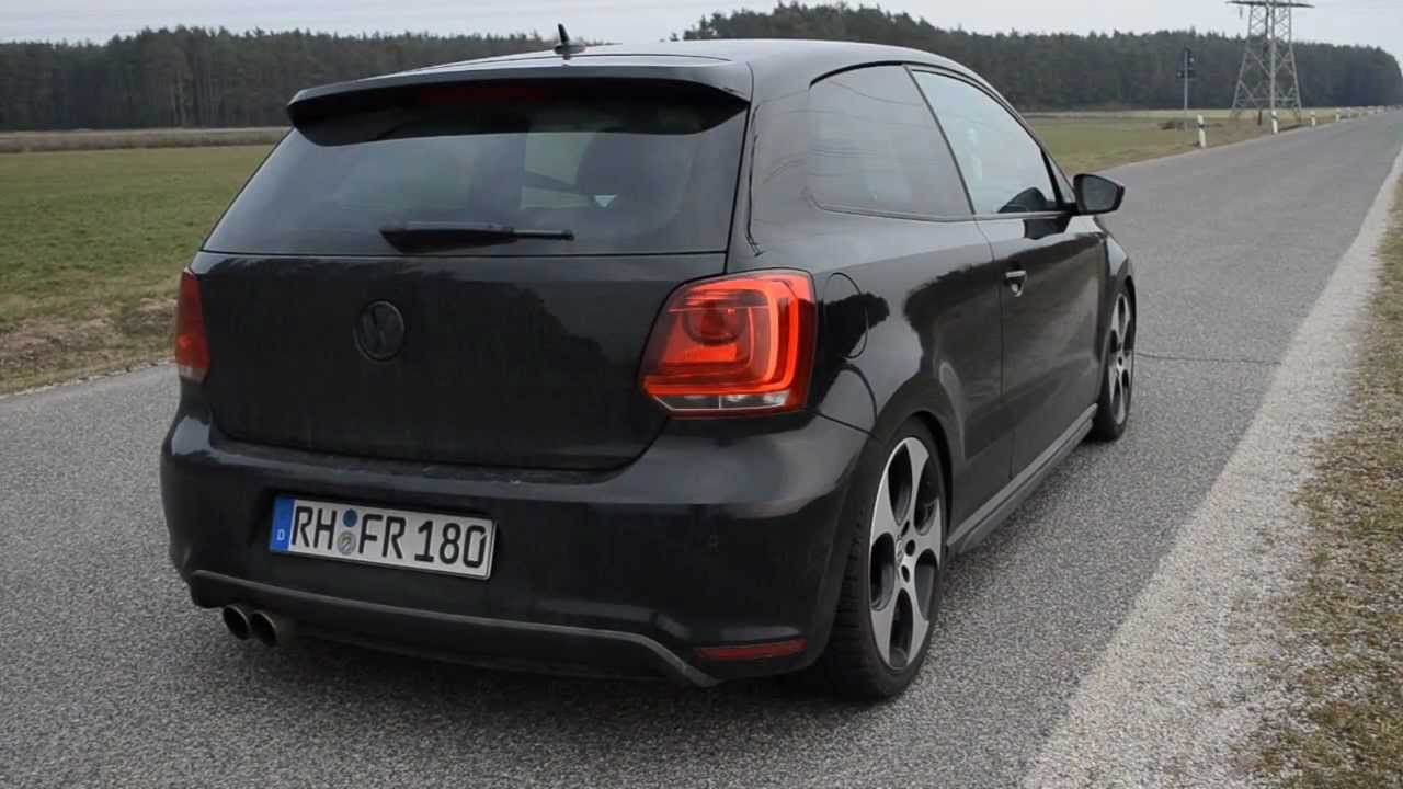 polo 6r gti 1 4tsi friedrich motorsport esd non resonated sound youtube. Black Bedroom Furniture Sets. Home Design Ideas