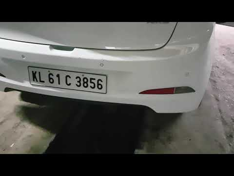 Hyundai i20 elite First start up exhaust note with hks muffler exhaust