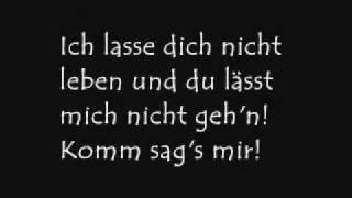 Overground - Hass mich (Lyrics)