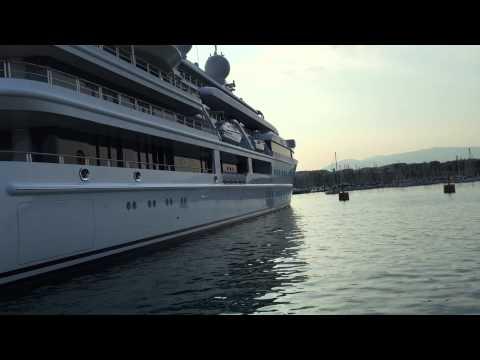 Katara royal Qatar yacht in Antibes