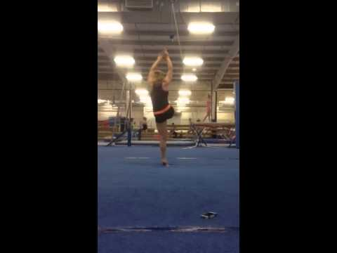 Bailey King Gymnastics Double Turn