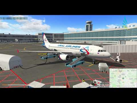 UUDD (ДОМОДЕДОВО) - OMDB (ДУБАЙ) | A320 FF | X-PLANE 11