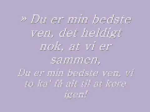 Nobody else but you - Danish, with lyrics.