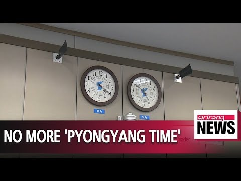 North Korea unifies its time zone with South Korea