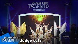 Ελλάδα Έχεις Ταλέντο - Season 2   Men Belly Dance Team   18/11/2018