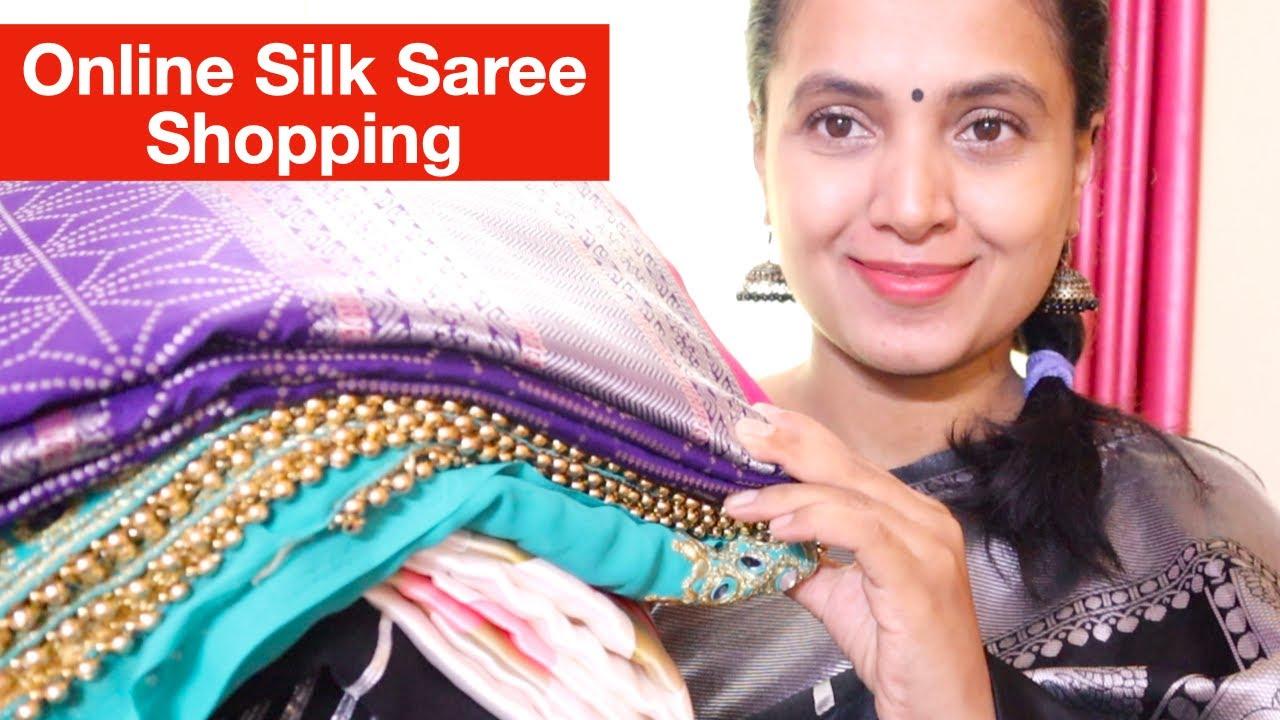 ಕಡಿಮೆ ಬೆಲೆಯ ಸಿಲ್ಕ್ ಸೀರೆ ಶಾಪಿಂಗ್ | Affordable Online Banarasi Silk Saree Shopping | Meesho Saree Haul