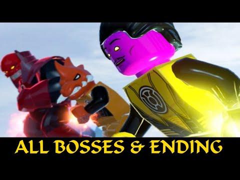 LEGO Batman 3 Beyond Gotham - All Boss Fights