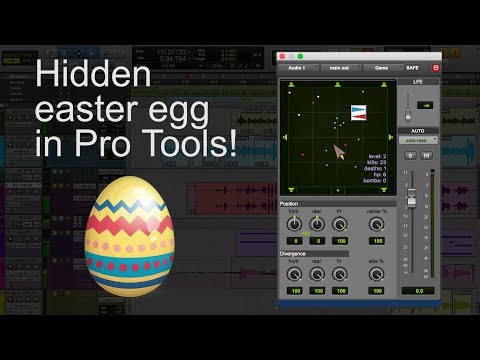 Hidden 'Asteroids' style game in Pro Tools