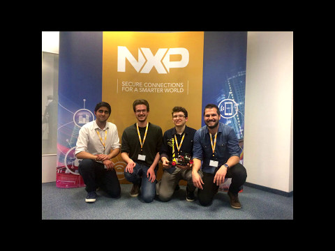 NXP CUP 2017 EMEA finals - Munich - University of Pavia