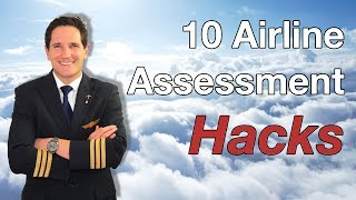 10 Airline ASSESSMENT HACKS given by CAPTAIN JOE