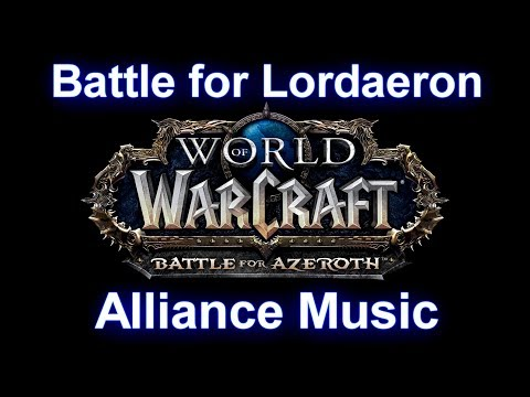 Battle for Lordaeron Music (Alliance) - Warcraft Battle for Azeroth Music
