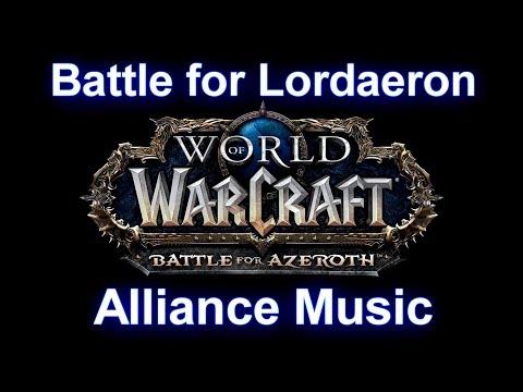 Battle for Lordaeron Music (Alliance) -...