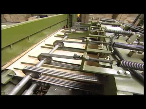 working video of veneer builder/composer machine