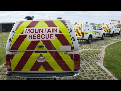 RAF Mountain Rescue And Toyota Hilux