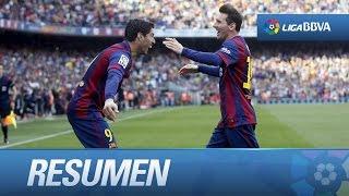 Resumen de FC Barcelona (2-0) Valencia CF