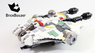 Lego Star Wars 75053 The Ghost - Lego Speed Build