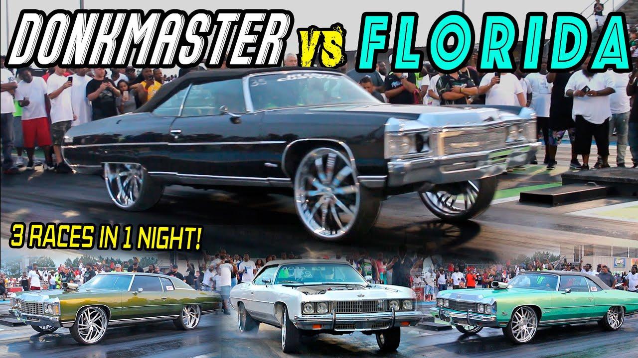 DONKMASTER VS 2FLY , MACHO , & ROZAY :  Enuff Talking 2 - Donk Racing