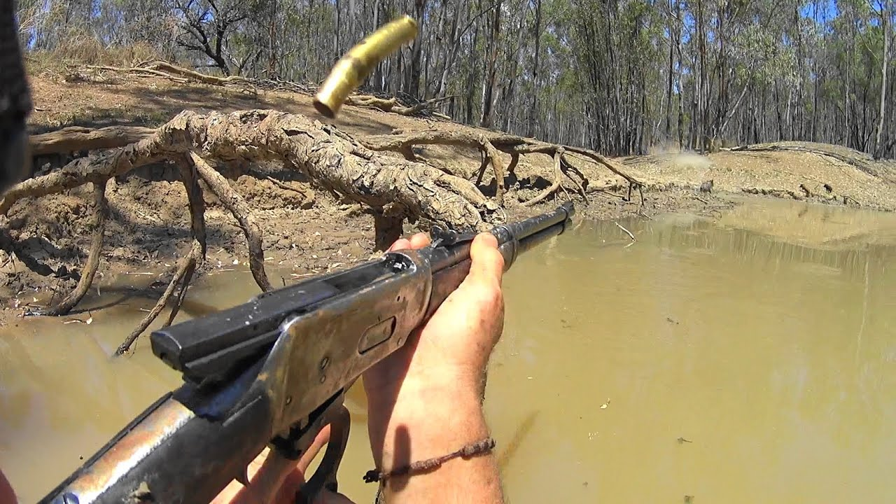 2nd clip from the kayak hunting boar/hog in the Australian Outback.