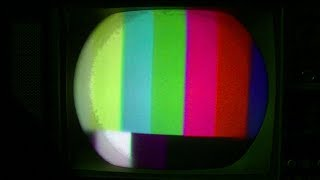 RCA CTC15 Color Final Repair Purity Convergence Setup 1964 Color Television