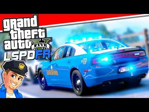 Georgia State Patrol - GTA 5 LSPDFR Police Mod LIVE