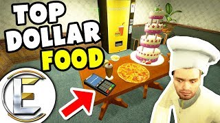 Top Dollar Food Shop - Gmod DarkRP (Very Expensive Food Just Use Chip N Pin And I