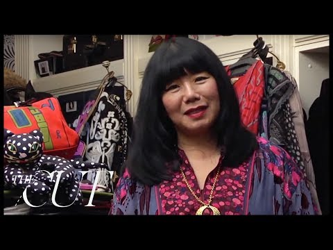 Touring Anna Sui's Colorful Closet