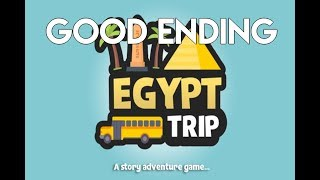 Egypt Trip - Full Playthrough (GOOD ENDING) - Roblox