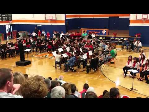 Maury Middle School sleigh ride 2015
