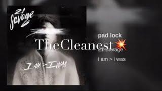21 Savage - Pad Lock  Clean