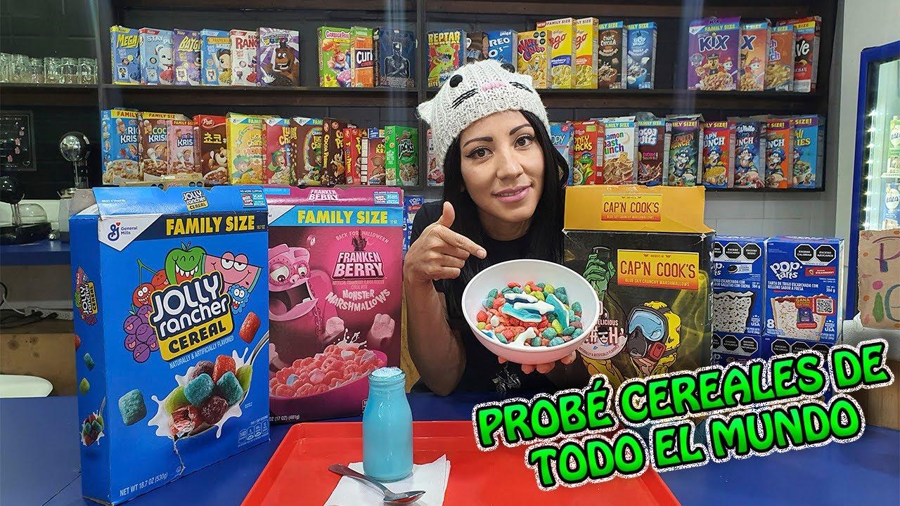 Los Mejores Cereales Del Mundo Un Lugar Que Debes Visitar En Cdmx Youtube