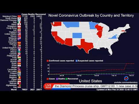 [LIVE] Coronavirus: Real Time Countries' Maps, Counter and News |  Coronavirus Stream