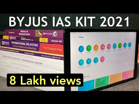 Byjus IAS kit 2020 unboxing & review | byjus ias Books and tablet | what byjus provide in ias kit ?