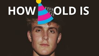how old is jake paul? 🍰🎈