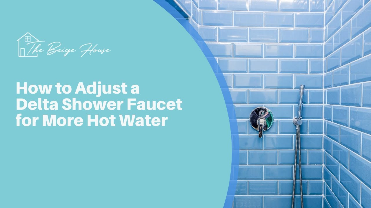 how to get more hot water in shower