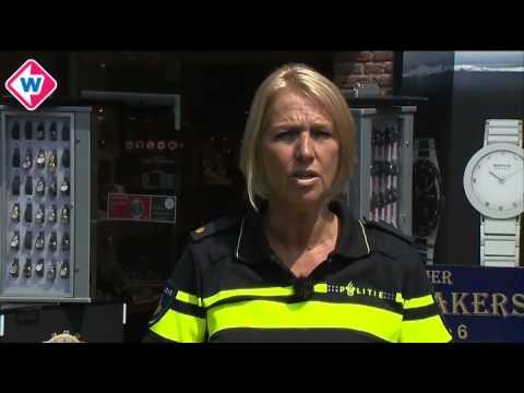 Medewerkers juwelier Sassenheim sluiten zich op tijdens overval