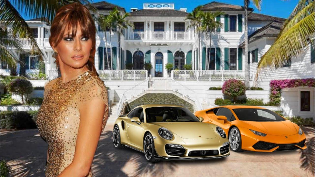 Melania Trump Lifestyle 2020 ★ Net Worth, House & Cars