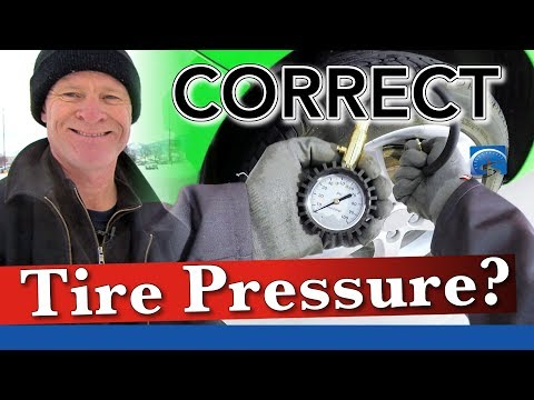 Correct Tire Pressure | Winter Driving Smart